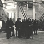 Торжественный запуск кузнечно-прессового цеха, 1981 год